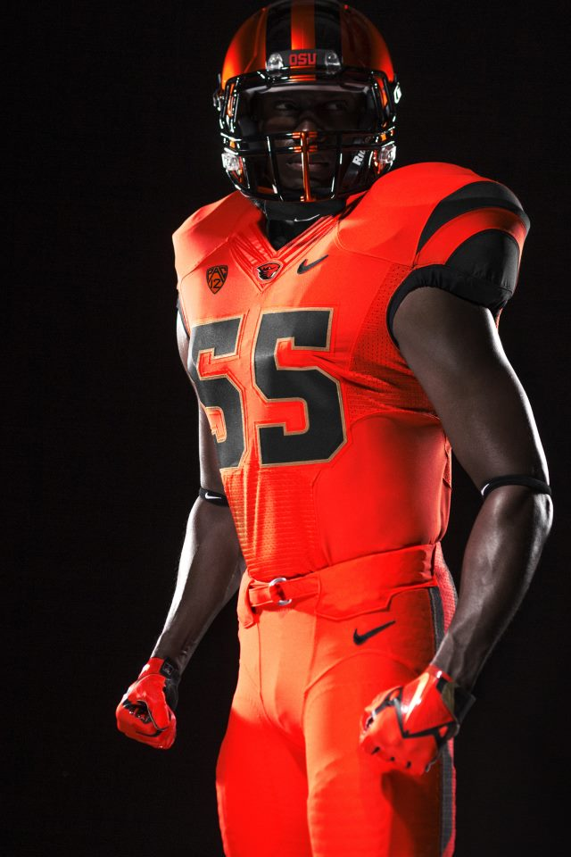 oregon state orange uniform