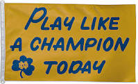 notre dame football saying